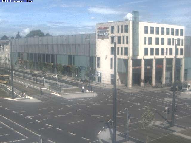 Karlsruhe City Center, Ettlinger-Tor-Platz (2)