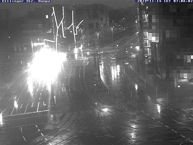 Webcam Rampe in Ettlinger Straße