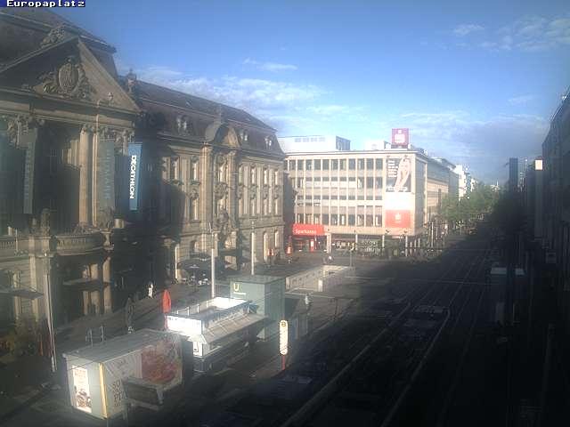 Webcam Europaplatz Karlsruhe